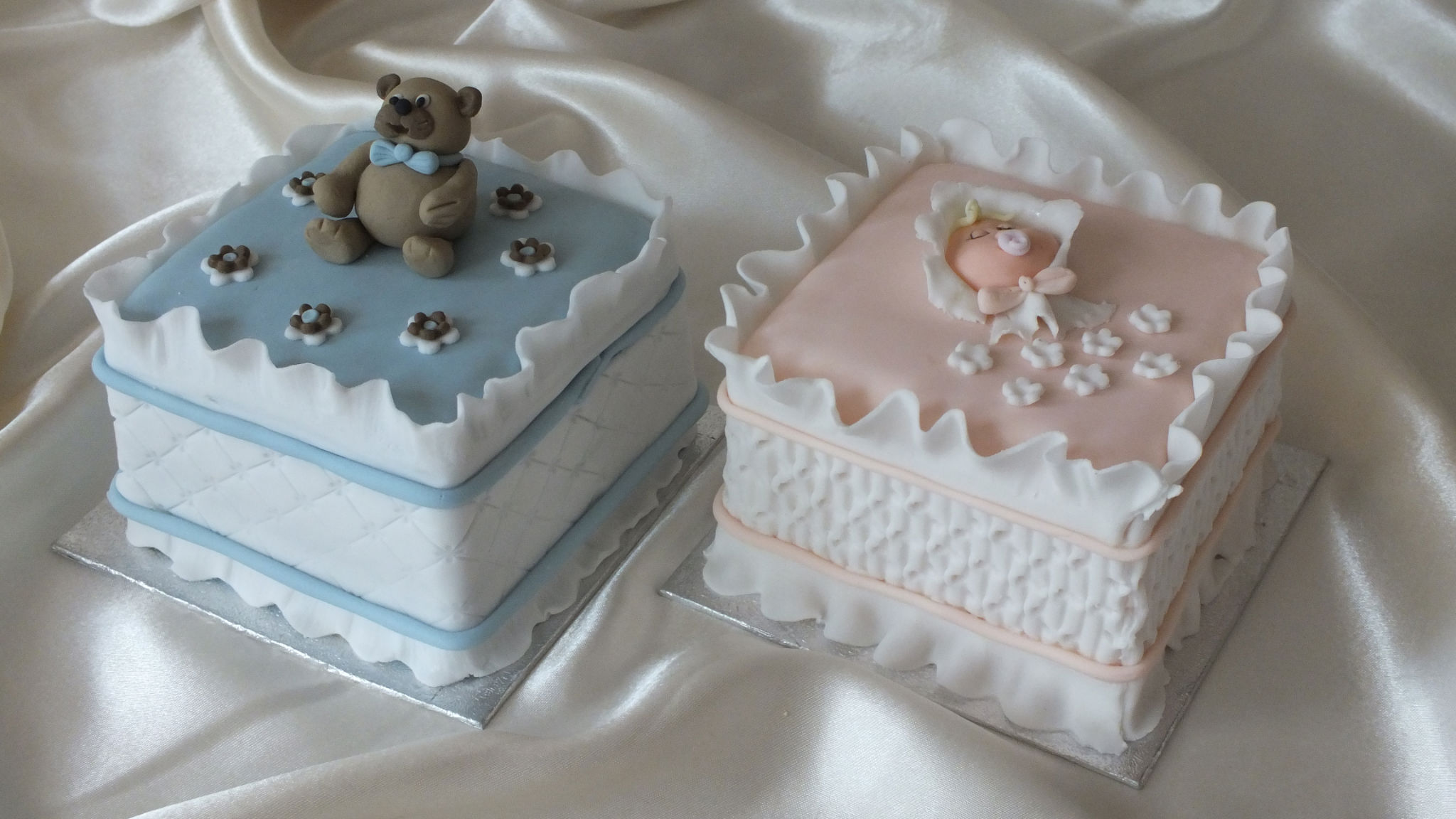 Images Of Cakes For Baptism