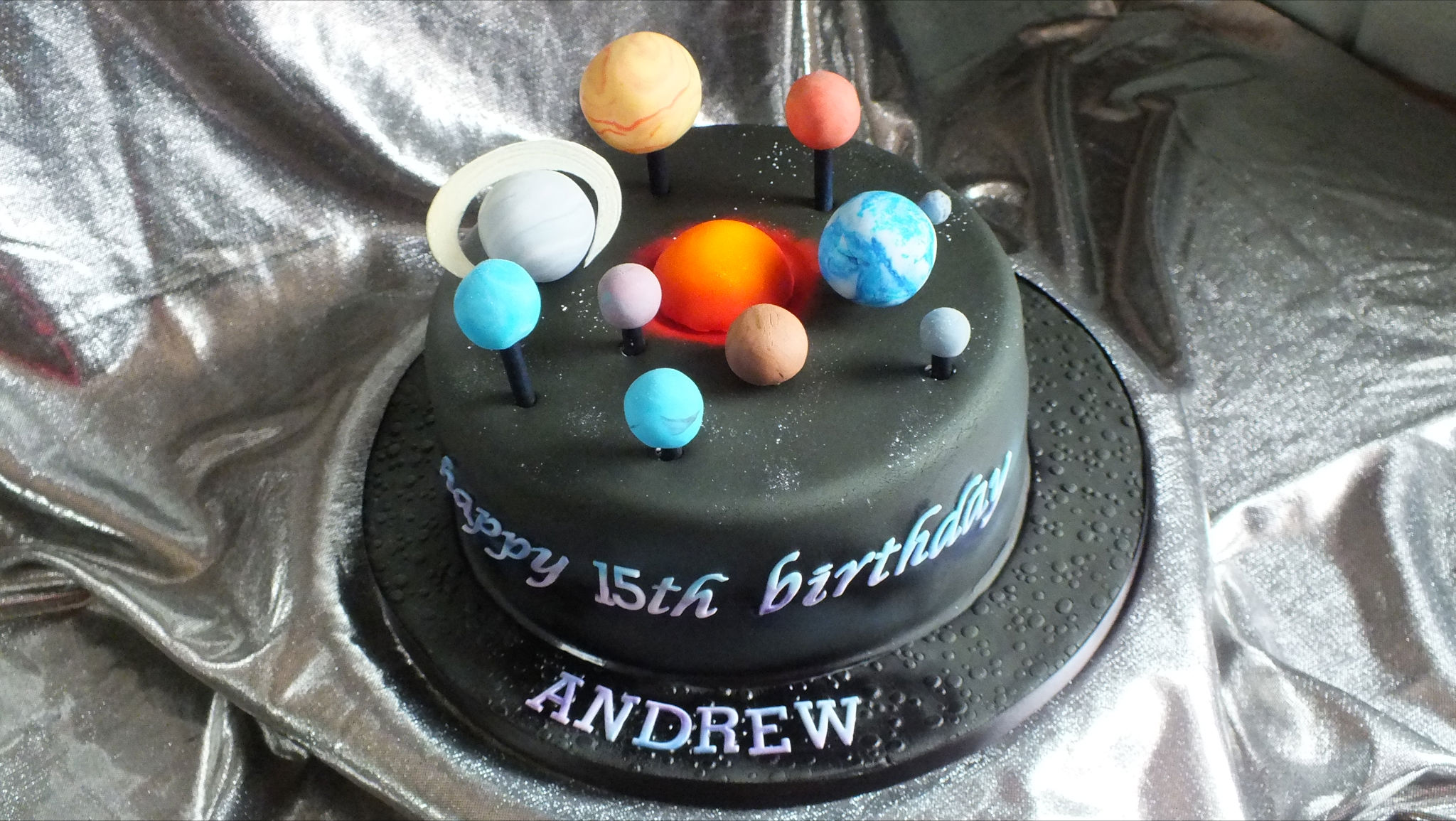 Cake Decorating Ideas Solar System : Solar System Themed Cakes (page 4) - Pics about space